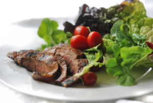 plate-with-meat-and-salad